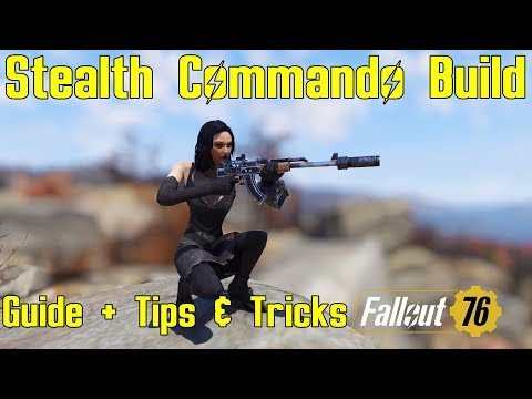 Fallout 76: Build Guide: Captainoob's Stealth Commando – Building