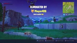 Fortnite Battle Royale - Hits the 76m Pistal Shot, Misses the 5m Pump