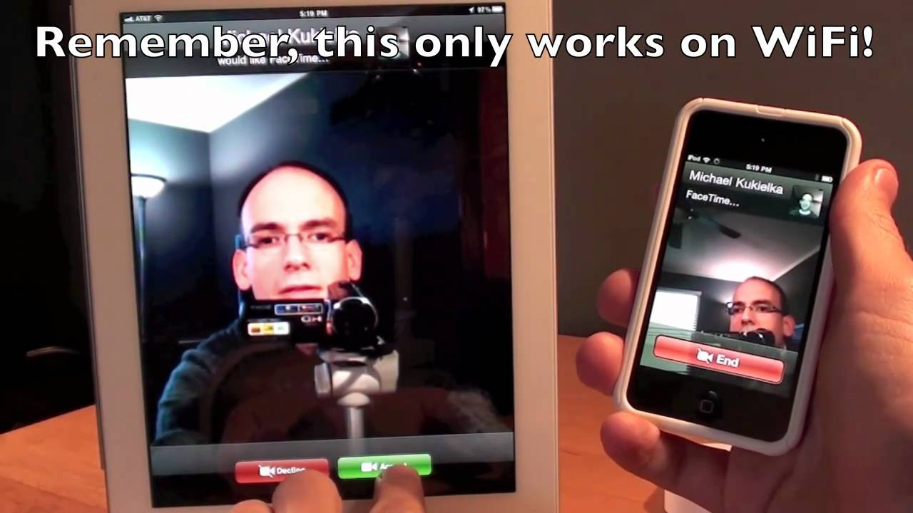 how to make a facetime call on ipad mini