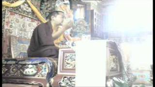 Khamtrul Rinpoche teaching on the paramitas
