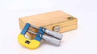 Микрометр гладкий двушкальный МКП-25-0,002