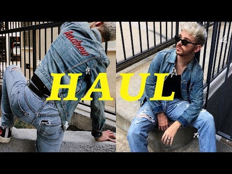 FALL TRY-ON HAUL (2018) - Mens Fashion + Trends for Fall // Imdrewscott