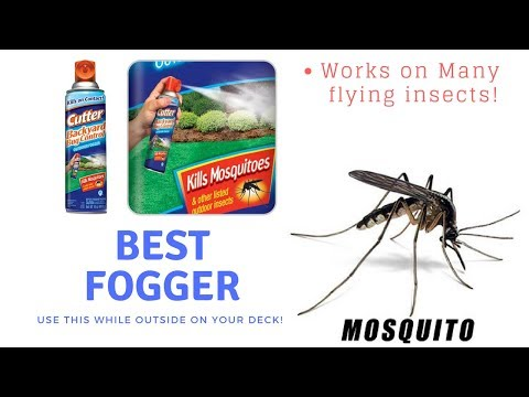 BEST BUG CONTROL BACKYARD FOGGER
