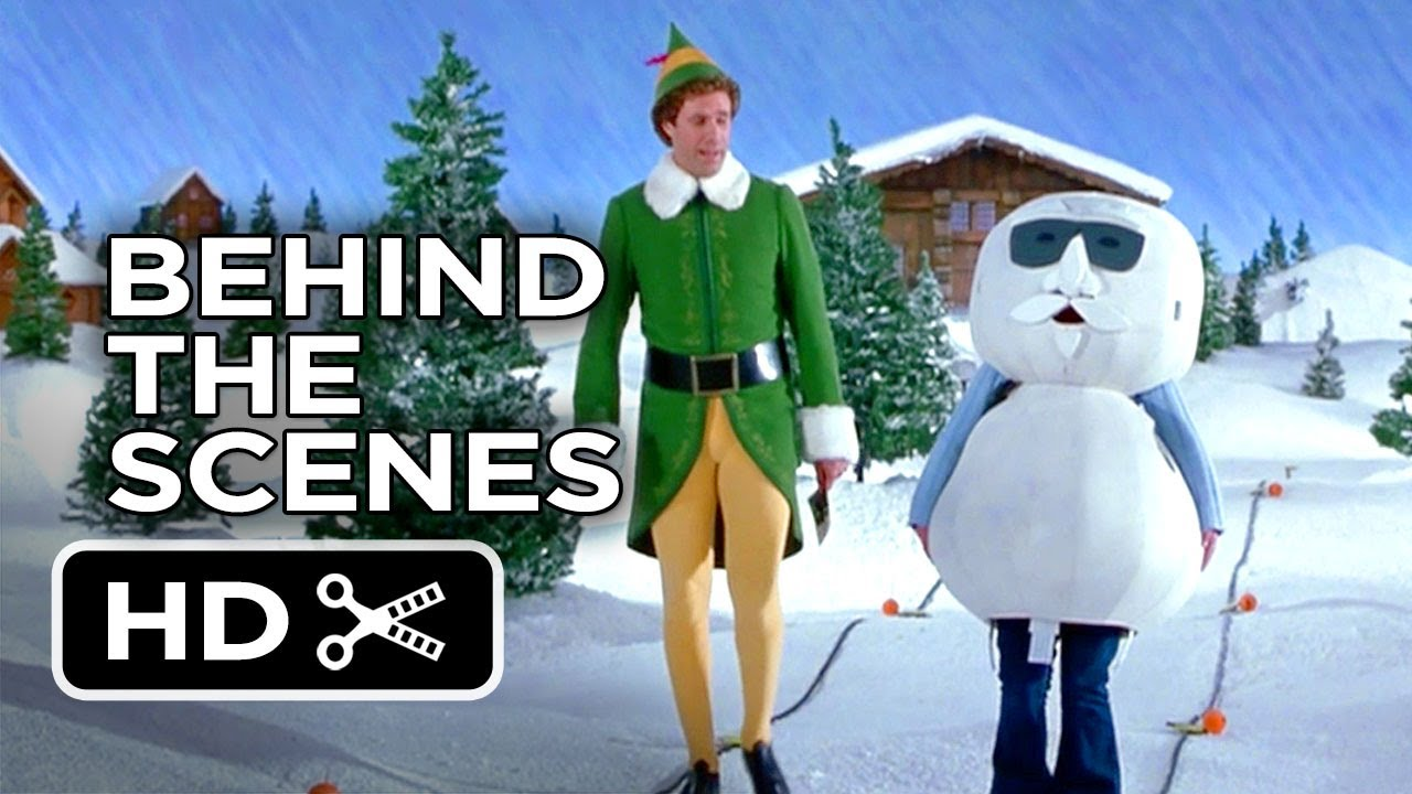 Elf Behind The Scenes Leon The Snowman 2003 Will Ferrell Comedy Hd Youtube