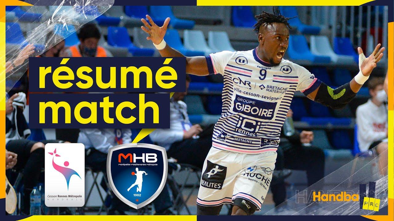 Download Cesson-Rennes/Montpellier, le résumé du match