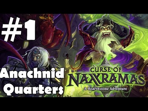 Hearthstone Naxxramas Full Walkthrough Part 1 Arachnid Quarter Gameplay Let's Play Review
