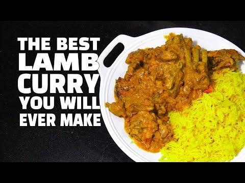 Lamb Curry - Creamy Lamb Curry - Lamb Curry Youtube - Lamb Masala