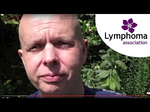Trevor's hair loss experience after chemotherapy for lymphoma