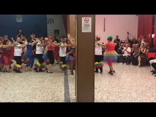 Corso liscio intermedio 2 di 3 Samba 2019