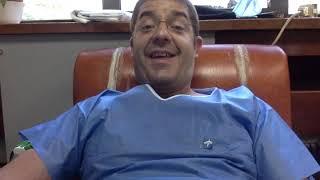 Donación de sangre por plasmaféresis. El Dr. Bueno donando en directo. MedicinaClara