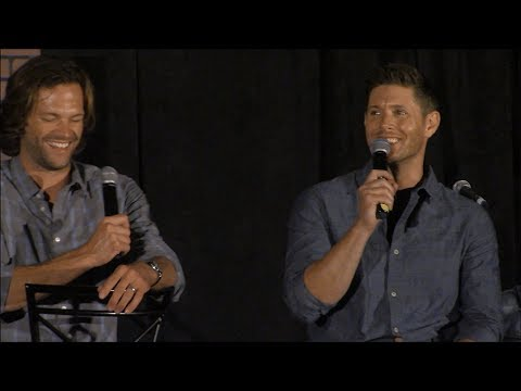 Jensen Ackles and Jared Padalecki Main Full Panel Chicon 2017 Supernatural