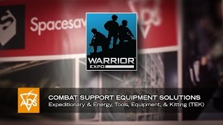 Warrior Expo Highlights | Combat Support Equipment Solutions