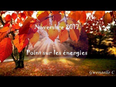 Energies de novembre 2017 - travail des alignements + explications