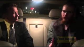 Rand Paul Interviews Civil Disobedience UBER Driver Christopher David