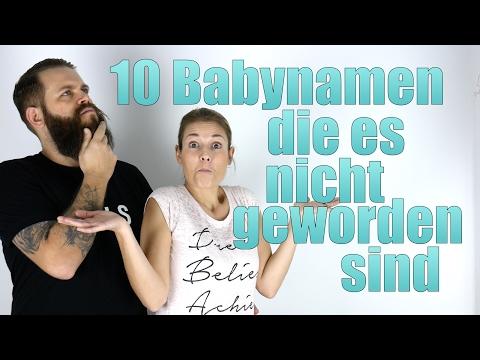 10 Babynamen, die wir nicht verwendet haben! Familie M. / zauberbluetchen