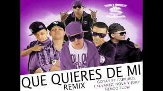 Gotay ft Farruko, J Alvarez, Nova y Jory & Ñengo Flow- Que Quieres De Mi [Official Remix]