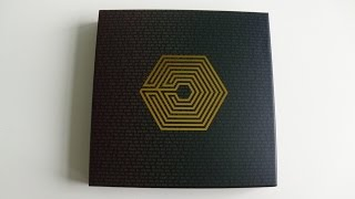 Unboxing EXO FROM. EXOPLANET#1 - THE LOST PLANET IN JAPAN DVD [Limited Edition]