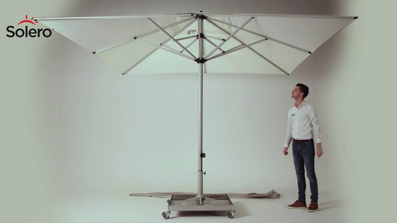 Solero Presto Pro Parasol Professionnel Pour Terrasse