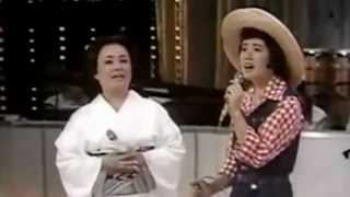 あの丘越えて 美空ひばり・森昌子 Misora Hibari・Mori Masako.