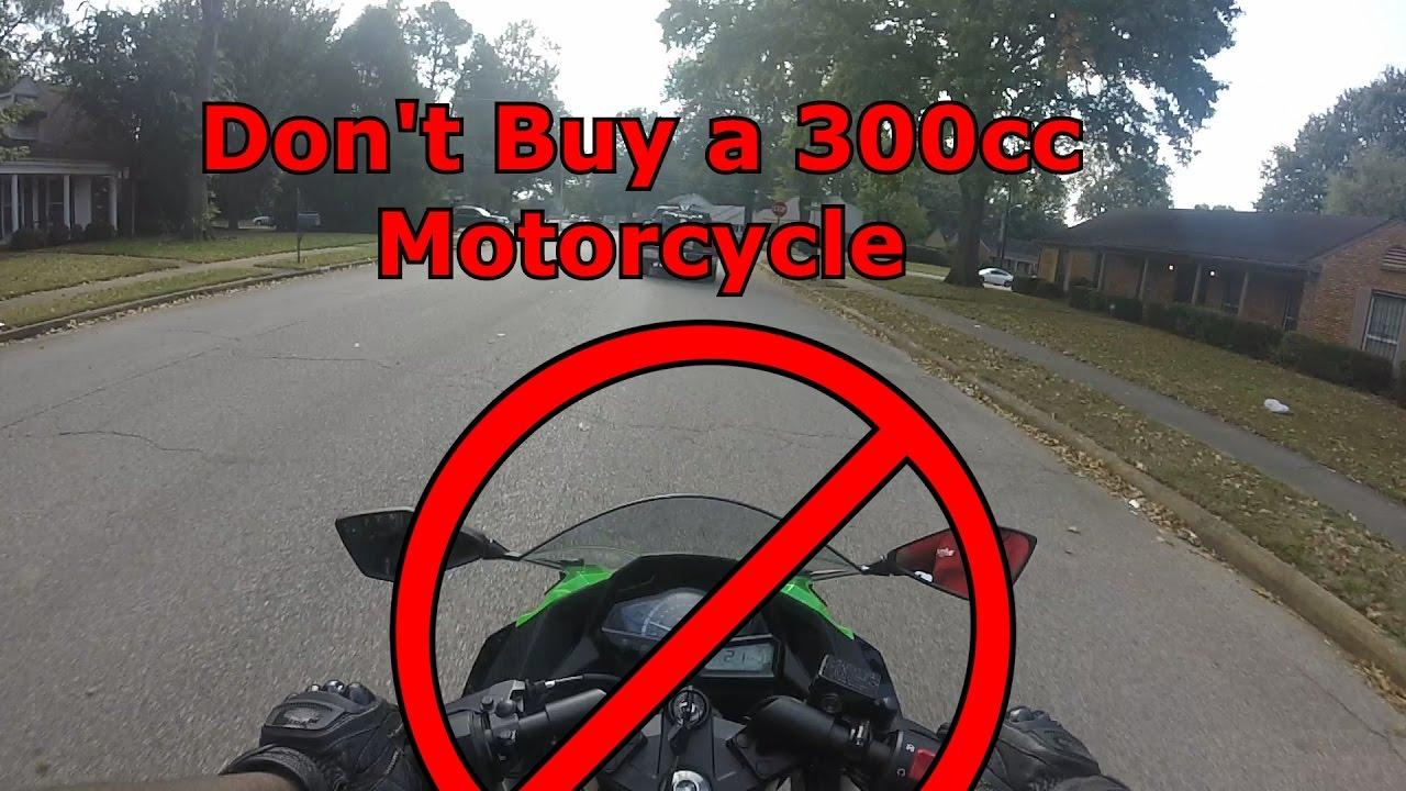 Don't Buy A 300cc Motorcycle   2016 Kawasaki Ninja 300 First Ride
