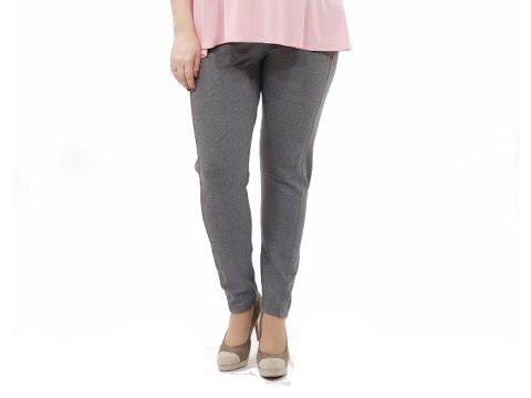 Женские летние брюки большого размера - YouTube