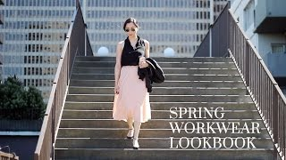 Spring Workwear Lookbook, spring workwear outfits, spring office looks