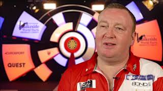 Glen Durrant REACTS to 4-3 win over Scott Baker in the last 16 at Lakeside World Championships