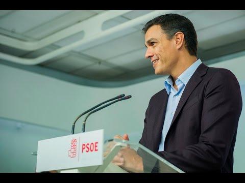 Declaración de Pedro Sánchez 1-10-16