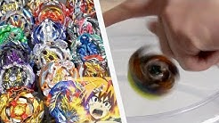 ULTIMATE HAND SPINNING Geist Fafnir VS ALL Cho-Z/Turbo Beyblades! - Beyblade Burst