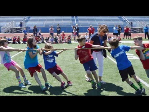 play day at Hermann Elementary School