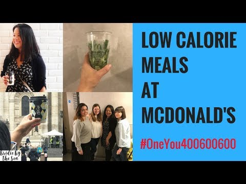 #AD | LOW CALORIE MEALS AT MCDONALD'S WITH MUMSNET | HEALTHY EATING | #ONEYOU400600600 #MEALSUNDER