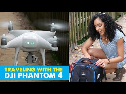 TRAVELING WITH THE DJI PHANTOM 4 (is annoying) | Review: PolarPro DroneTrekker Travel BackPack