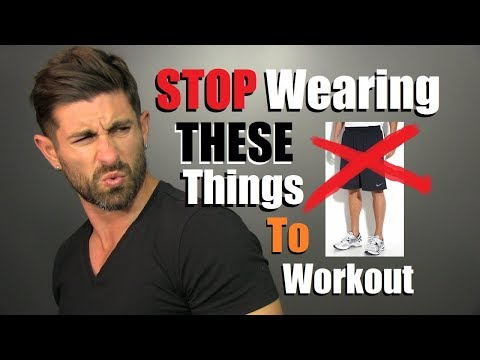 10 Things Men Need To STOP Wearing At The Gym!