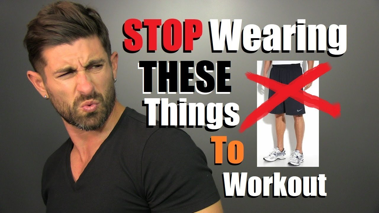 10 Things Men Need To STOP Wearing At The Gym! - YouTube 2588365deaf
