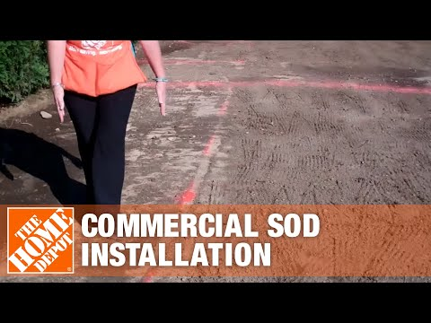 Commercial Sod Installation Part 1 | The Home Depot