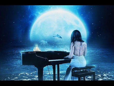 Классическая музыка: Бетховен - Лунная Соната. Живая музыка Для релаксации на фоне моря