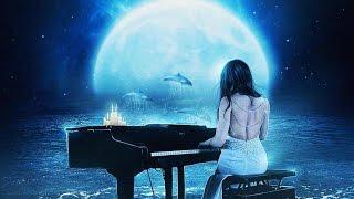 Classical Music Piano Beethoven Moonlight Sonata Seashore Background<