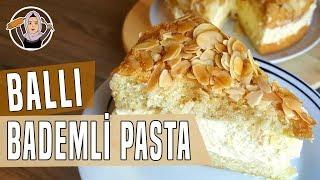 Pasta Tarifi-Ballı badem pastasının yapilisi-Arı sokması(Alman pastası) Hatice Mazi