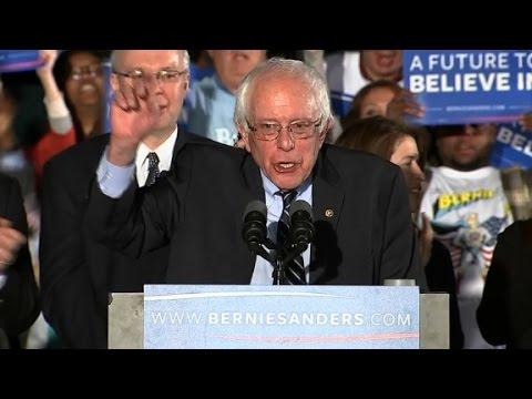 Bernie Sanders' New Hampshire victory speech (Entire...