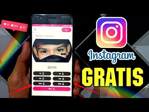 Cara Menambah Followers dan Likes Di Instagram Gratis