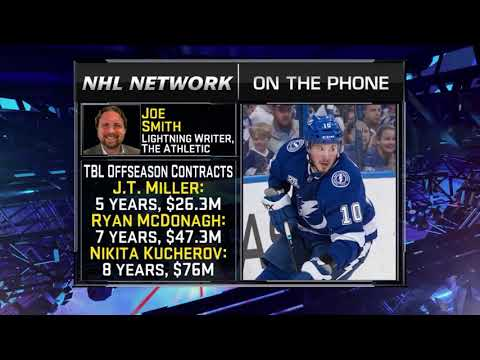 NHL Tonight: Joe Smith on Bolts: Smith on Callahan returning to ice, Lightning roster  Aug 15,  2018