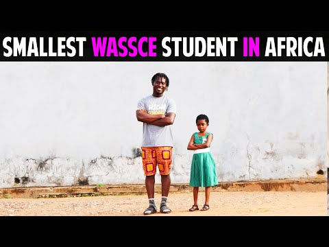 Smallest Wassce Student In Africa