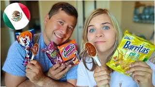 Americans Trying Real Mexican Candy! // SoCassie Vlogs