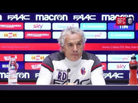 #InterBFC: la conferenza pre-partita di Donadoni