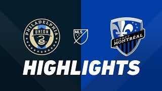 Philadelphia Union vs. Montreal Impact | HIGHLIGHTS - April 20, 2019