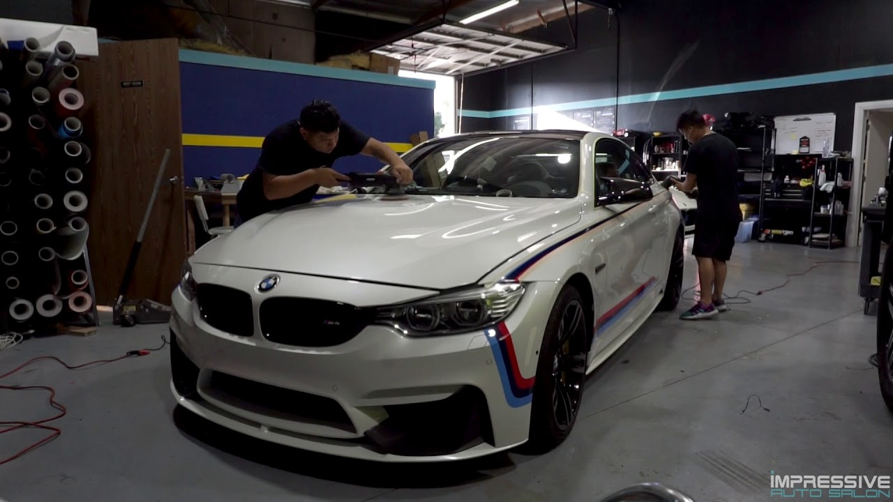 CAMUI CRYSTAL COATING ON A BMW M4