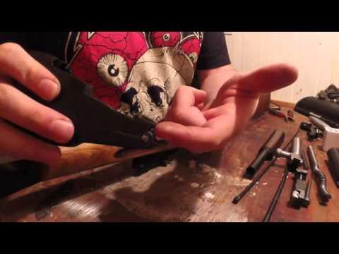 How to take apart an SKS rifle