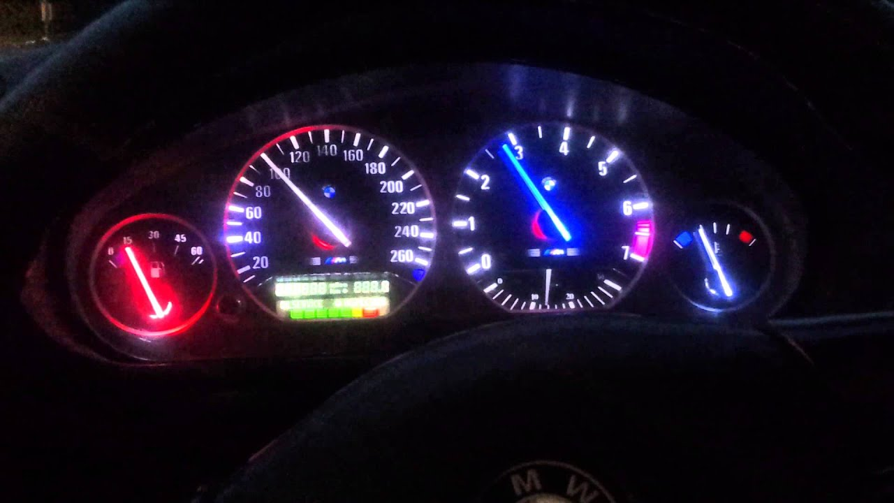 Bmw E36 Custom Gauge Testing Youtube