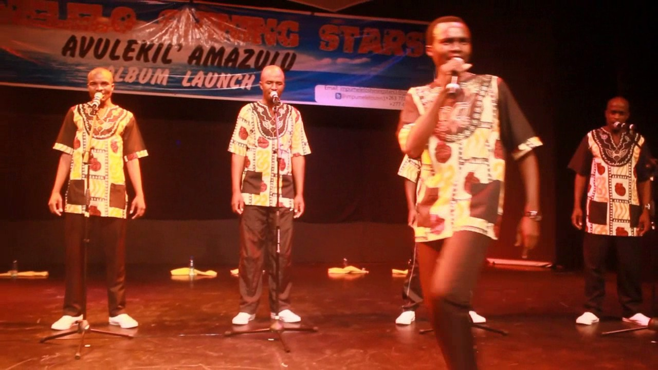 We thank Blach Mambazo for taking isicathamiya all over the World