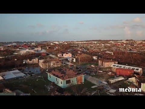 Багамские острова после урагана